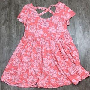 Tops - Torrid Babydoll Floral Long Tunic